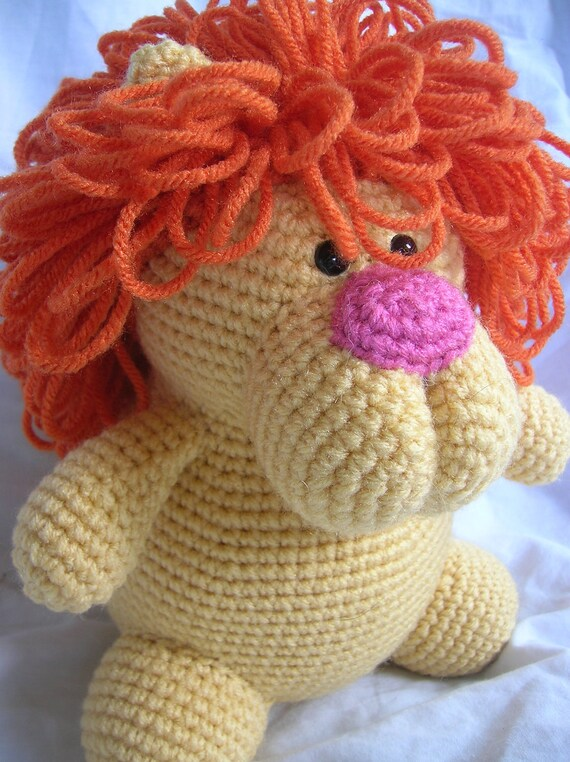 Amigurumi Mane : Leonard the Lion Amigurumi Crochet PATTERN ONLY by ...