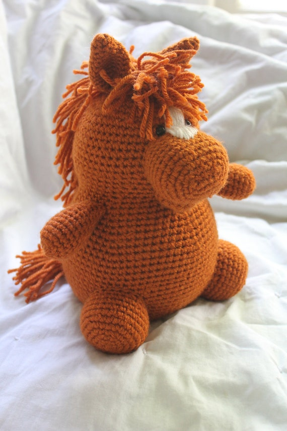Free Crochet Pattern For Horse : Henry the Horse Amigurumi Plush Crochet PATTERN by ...