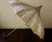 20% OFF SALE-The Kelly: Vintage Late 1940s Parasol Umbrella