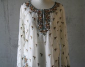 Sheer Indian Tunic S/M/L
