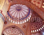 Blue Mosque 8x10 Fine Art Metallic