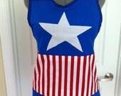 Captain America inspired apron