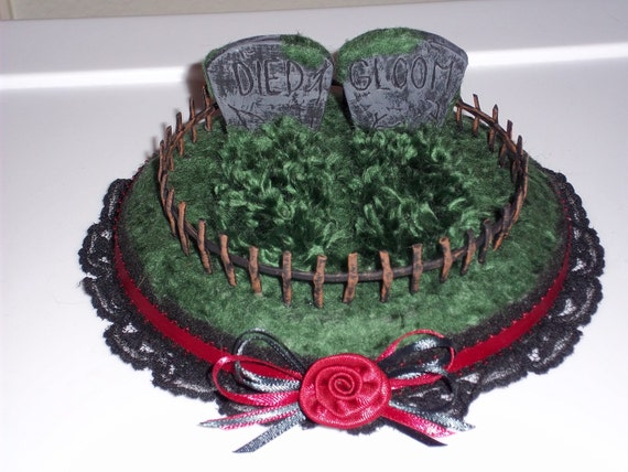 Gothic Headstone Wedding Cake Topper By Sarwynravenfae On Etsy