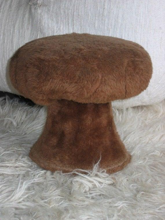 60 S Groovy Mushroom Stool Ottoman Kid Size Pop Panton