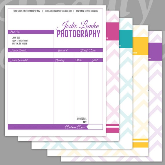 free photography order form template - Military.bralicious.co