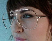 90s vintage gold glasses unisex