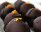 8 Chocolate Truffles with Grand Marnier (Vegan)