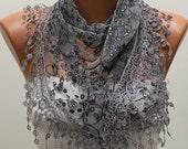 Women Shawl Scarf - Headband Necklace Cowl
