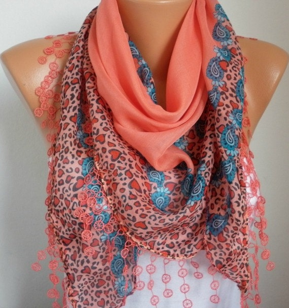 on sale scarf shawl cotton weddings scarves cowl by fatwoman