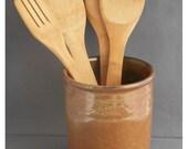 Utensil Jar / Wine Cooler Brown