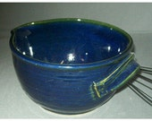 Ceramic Blue  Batter Bowl