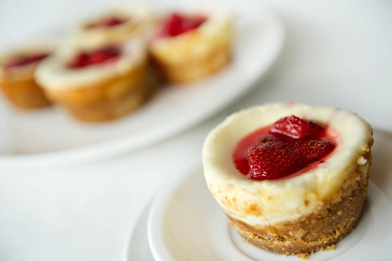 Items similar to One Dozen Strawberry Cheesecake Cupcakes Local Pickup ...