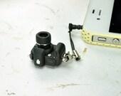 Canon 30D DSLR Camera miniature Earphone Jack