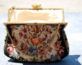 vintage 1950s GORWOOD PETTITPOINT purse