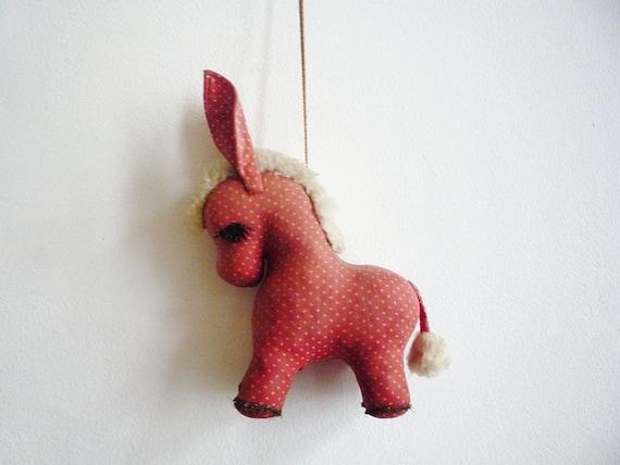 Antique Donkey Figurine