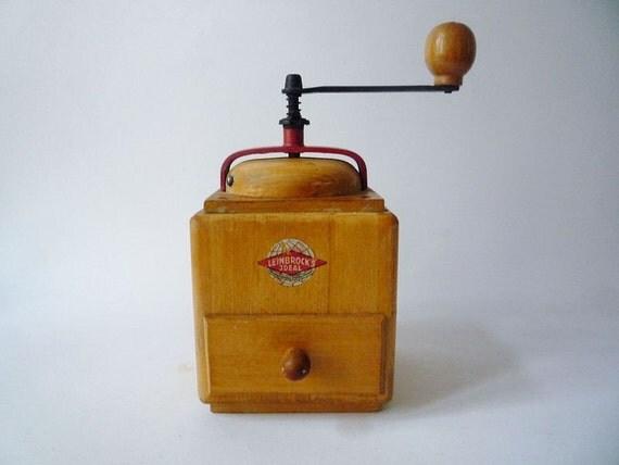 Vintage Coffee Grinder Leinbrock's Ideal
