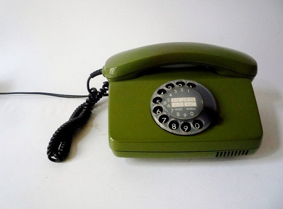 Vintage Rotary Phone Made in Germany