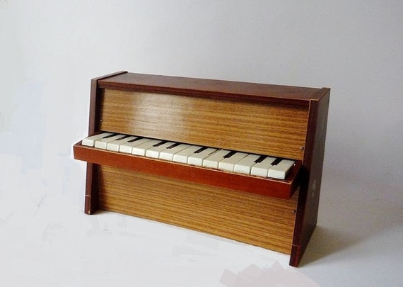 Vintage Mini Piano 1950