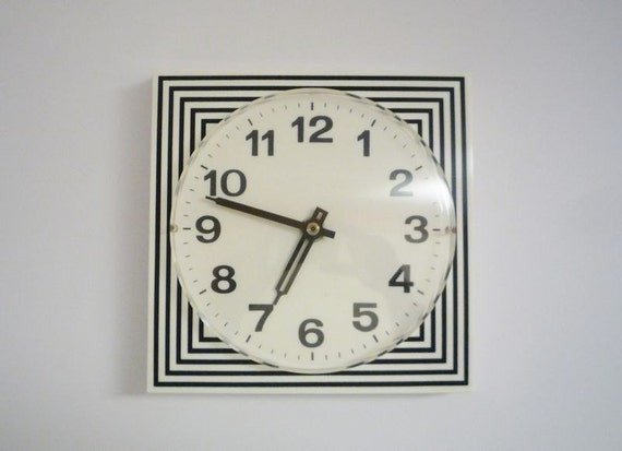 Vintage Wall Clock Made in Germany