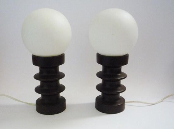 Pair of Vintage Steuler Bedside Lamps