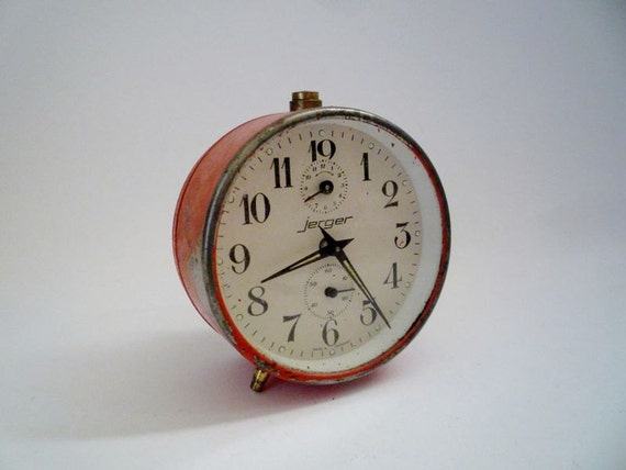Vintage Clock from Jerger Made in Germany