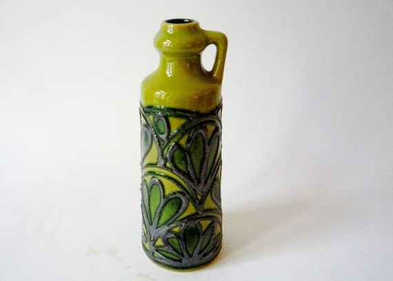 Vintage Vase from Strehla Made in GDR