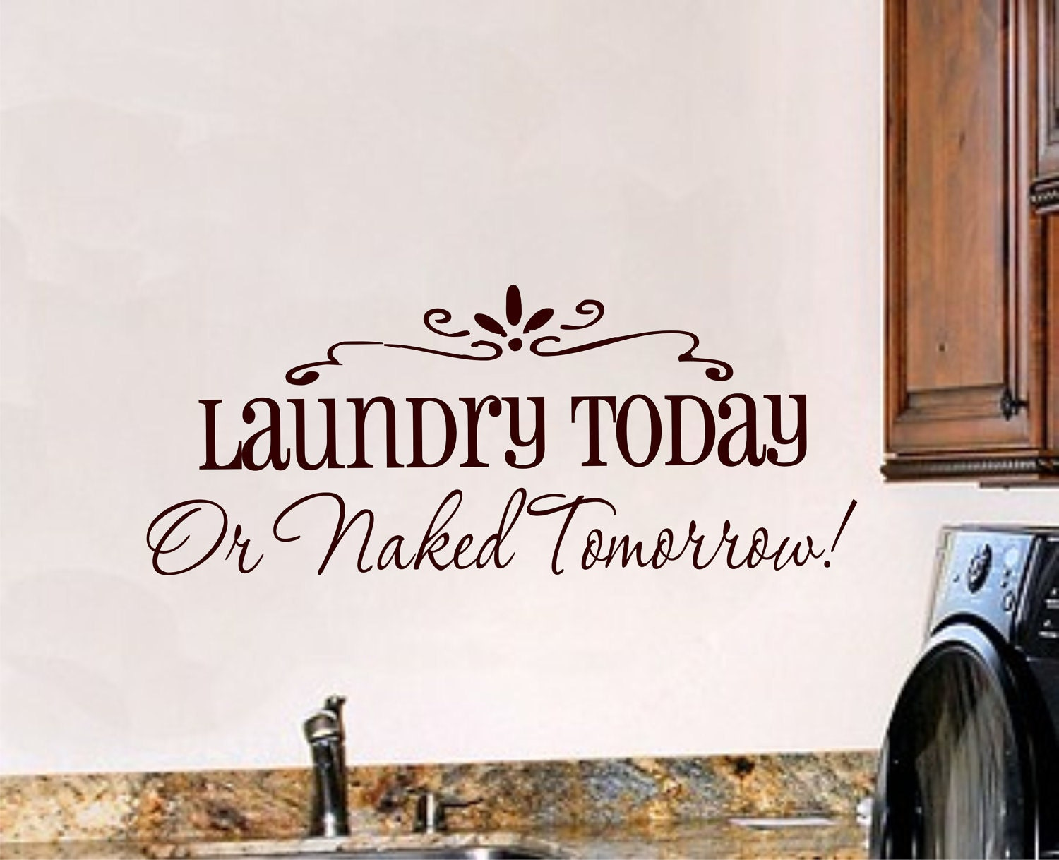 Laundry Room Vinyl Wall Art Laundry Room Wall Decal Laundry Room Decor Vinyl Wall Art