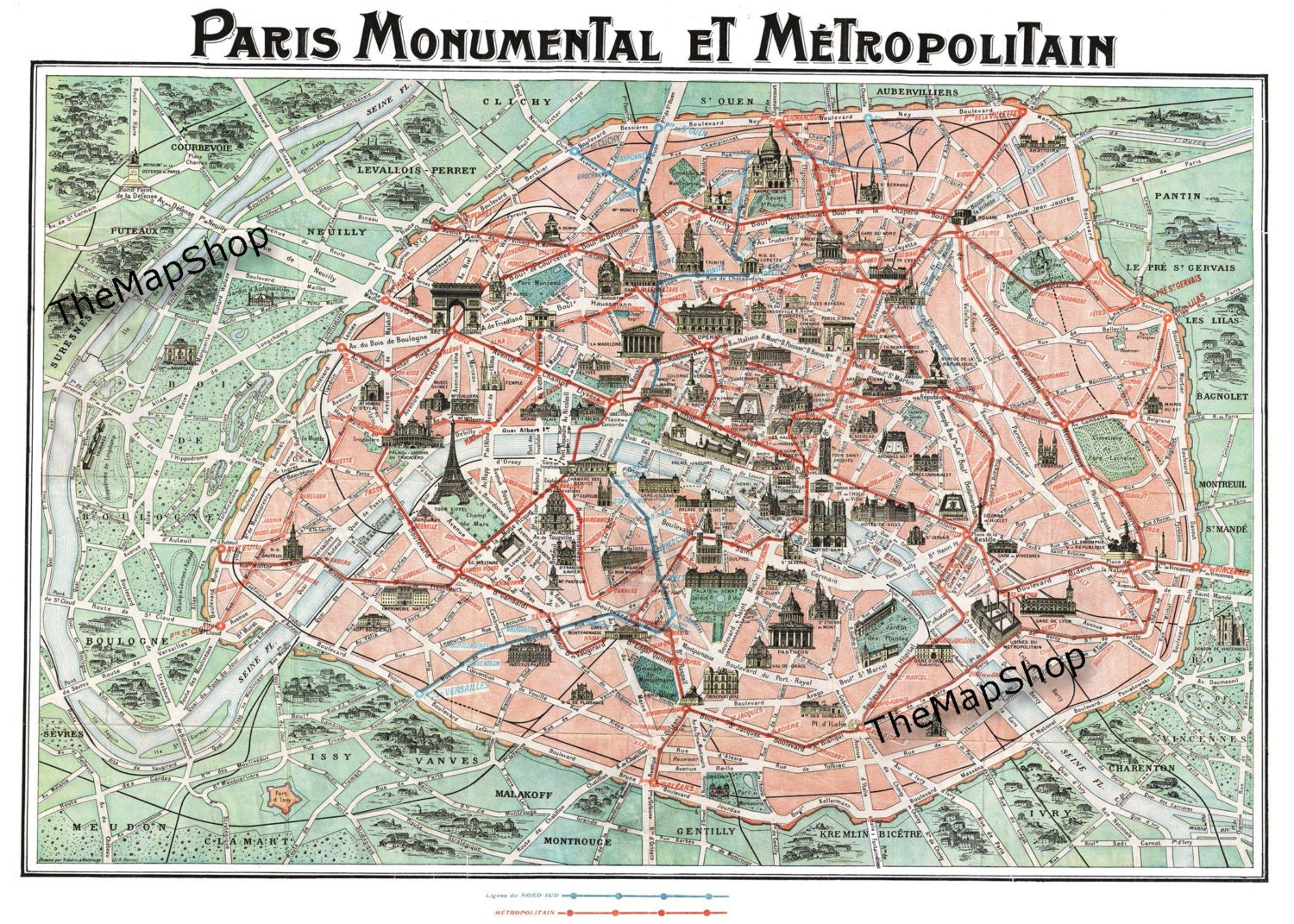 Old paris street map royalty free stock photo image 15885665 - Paris Street Plan Paris Street Map Vintage Map Paris By Themapshop On Etsy