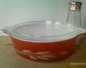 Vintage Pyrex / Bowl / Casserole / Autumn Harvest
