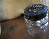 Vintage Glass Inkwell Bottle