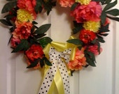 Decorative wreath summertime
