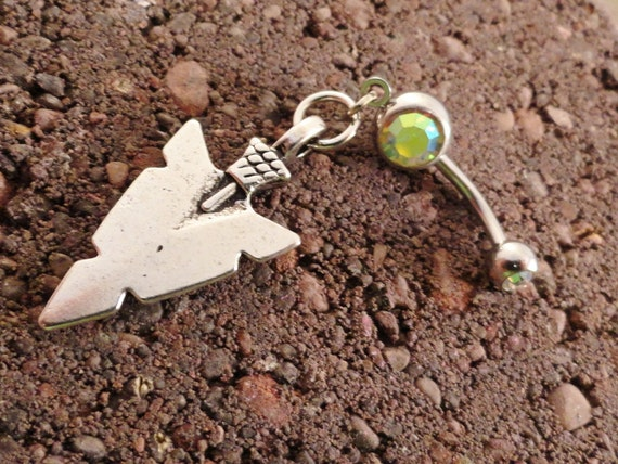 Arrow Head Belly Button Ring