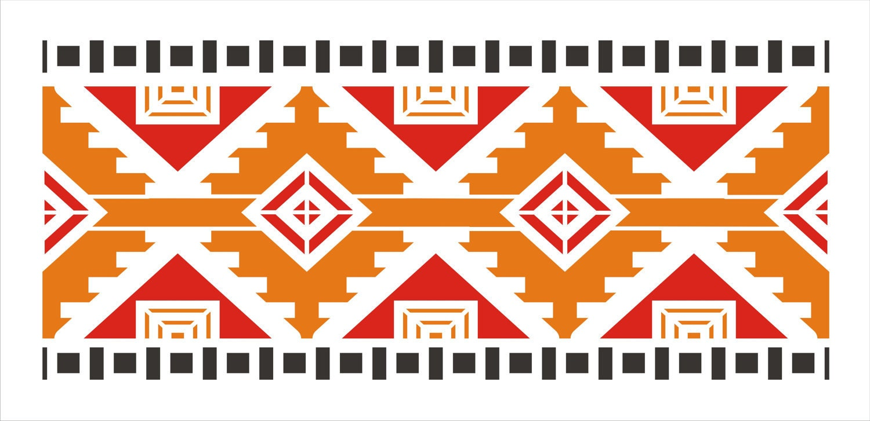 Southwestern stencils