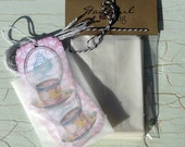 25 Little Glassine Bags 3.5x5 inch