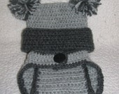 jester pom pom hat and diaper cover