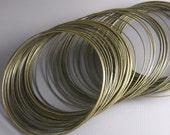 WIRE-AB-0.7MM - Antique Bronze Wire, non coated, 22 gauge, Round, Half Hard...10ft