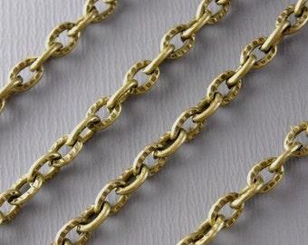 CHAIN-AB-4MMx3MM - 10-Foot 4mm x 3mm Antique Bronze Chain