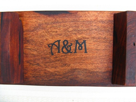 Custom Listing for John - Custom Engraving for our Natural Edge Salvaged Mesquite Wood Serving Tray / Cutting Boards