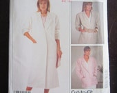 1987 -Vintage MCCALL'S Pattern 2917 -  Misses Unline COAT or JACKET- size  12-14-16 -Uncut