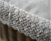 Floral Cotton Lace, 1 Yard