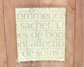 S A L E // 100 Yellow Letter Open End Bag