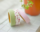 AFRESH Fabric Tape, A Set of 3