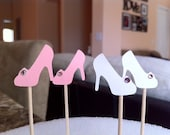 Shoe Cupcake Toppers