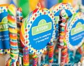 Sesame Street Lollipop Labels