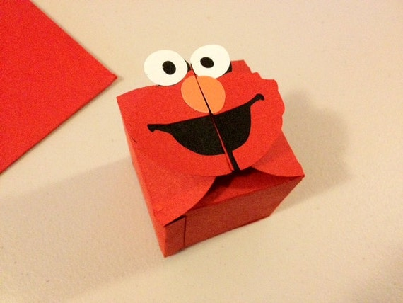 Elmo Sesame Street Favor Box
