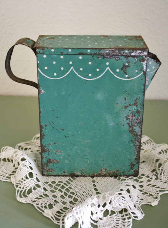Antique soap flakes pitcher by adiamondinthestuff on etsy - Soap flakes dispenser ...