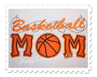 Basketball Mom Applique with a Twist