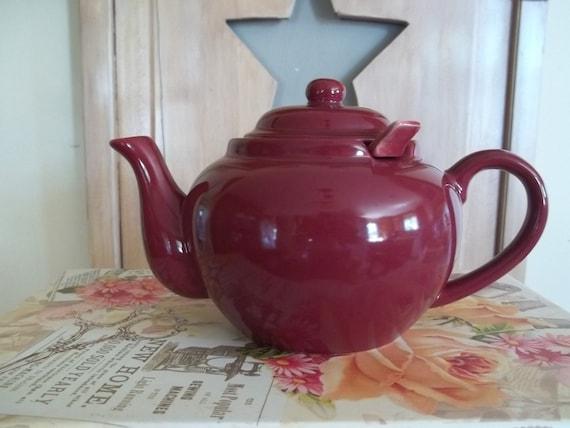 Sale Sale Sale Vintage Teapot/Old Amsterdam Porcelain Teapot with Diffuser