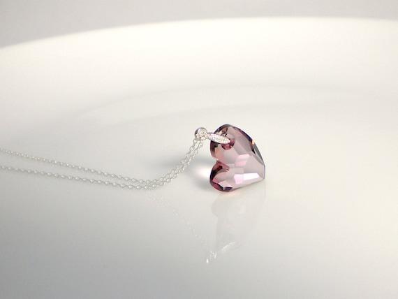 Swarovski Devoted2u pendant necklace on sterling silver