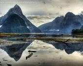 Fine art landscape photography. Milford Sounds, Fiordland,  New Zealand 8 x 12 Print